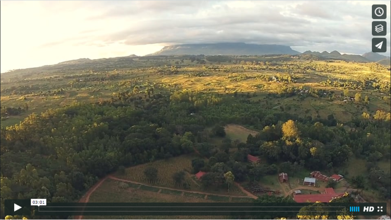 Aerial of Namikango Mission // Southeastern Malawi, Africa