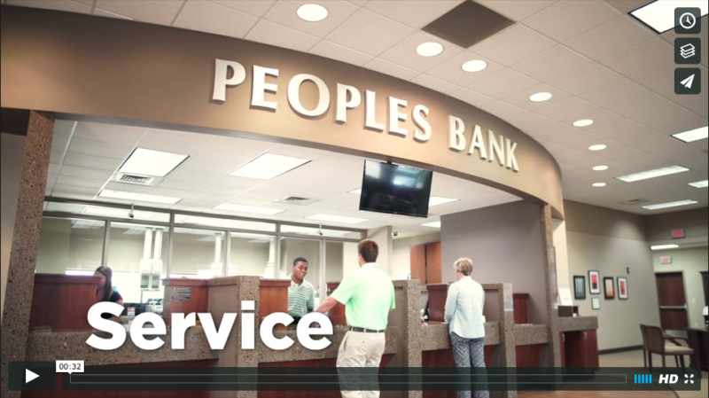 """The People"" // Peoples Bank :30 Commercial"