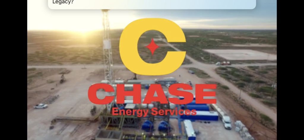 Chase Energy // Homepage & Social Video
