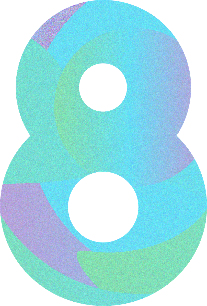 The 8 Logo for Contract Cre8ive in the Website design colors