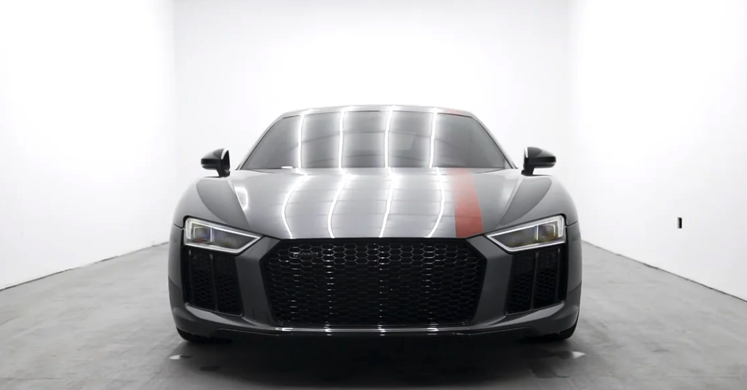 video production specialists photographed this sports car