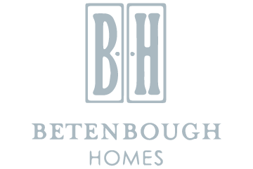 Betenbough Homes Grey logo for Contract Cre8ive's Marketing and Advertising Firm's Website