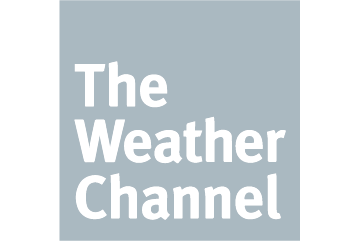 The weather channel logo - worked with Cre8ive